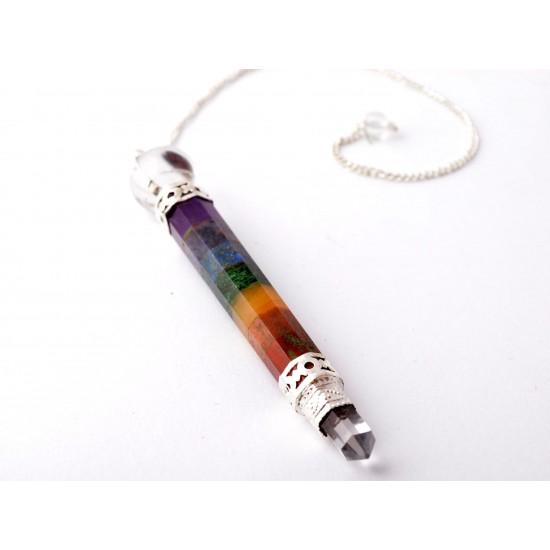 Ametiszt-Aventurin-Hegyikristály-Jáspis-Lápisz lazuli Inga