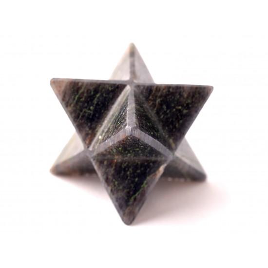 Aventurin Merkaba csillag