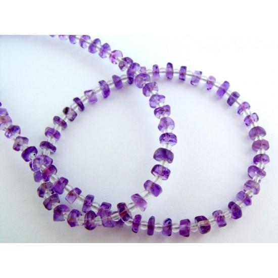 Ametiszt-Hegyikristály Indiai ékszer