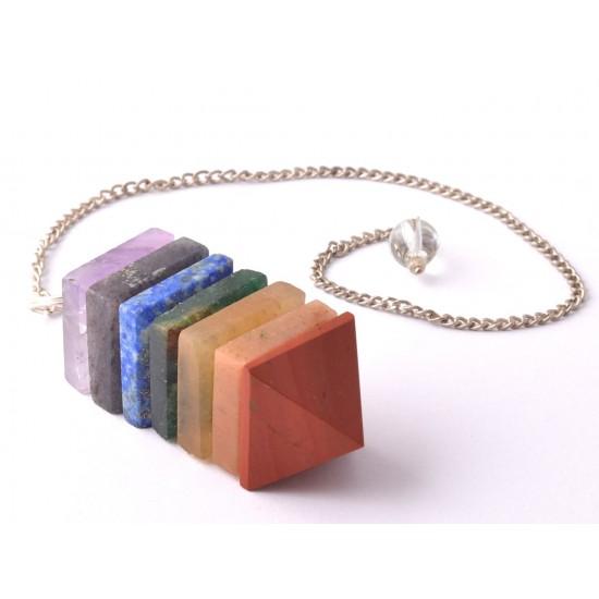 Ametiszt-Aranykvarc-Aventurin-Jáspis-Lápisz lazuli Inga