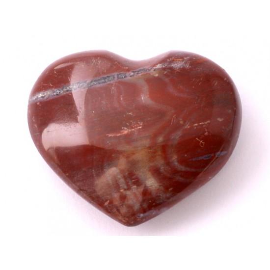 Jáspis szív dísztárgy