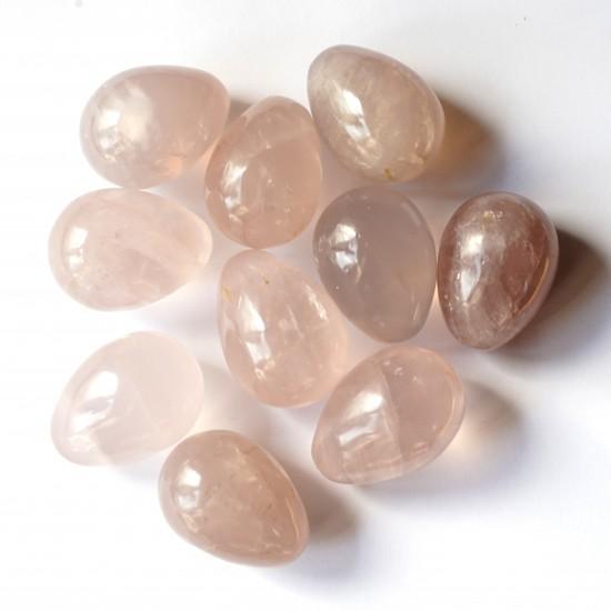 Rózsakvarc Ásvány tojás