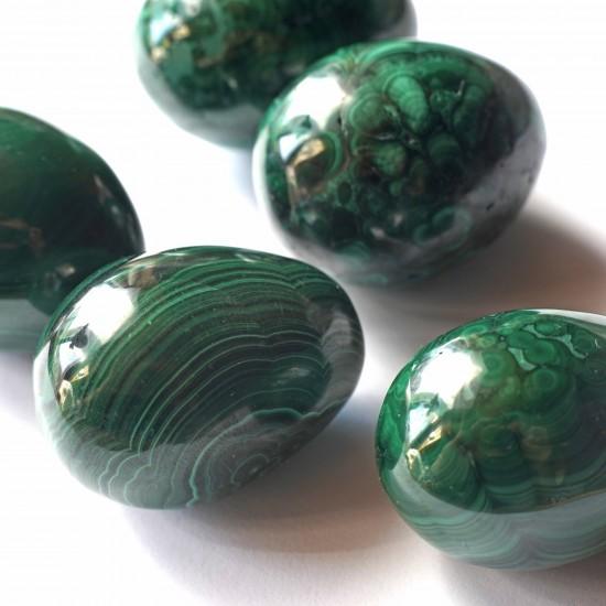Malachit Ásvány tojás