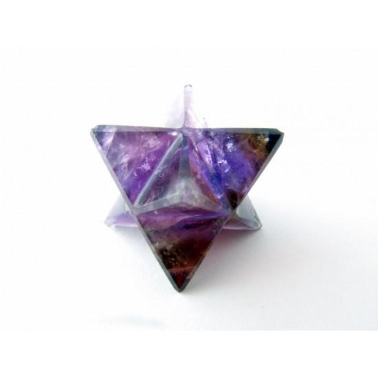 Ametiszt Merkaba csillag